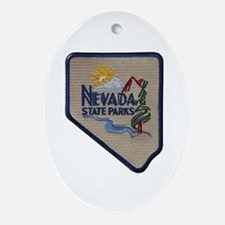 Nevada State Parks Oval Ornament