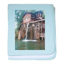 Dollywood Grist Mill baby blanket