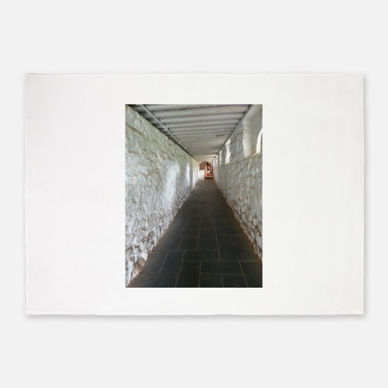 Monticello Thomas Jefferson Hallway 5'x7'Area Rug