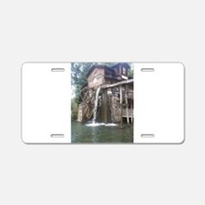 Dollywood Grist Mill Aluminum License Plate