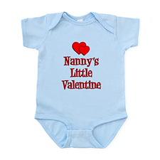 Nanny's Little Valentine Body Suit