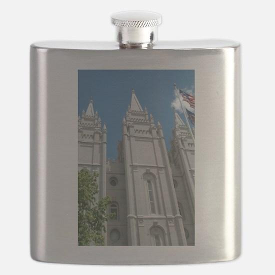 Salt Lake City Utah Temple Flask
