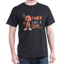 Unique Fight like a girl fundraising T-Shirt