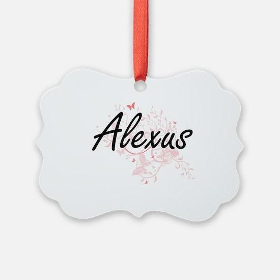 Cute Alexus Ornament