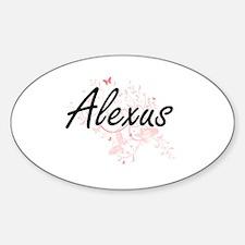 Cute Alexus Sticker (Oval)