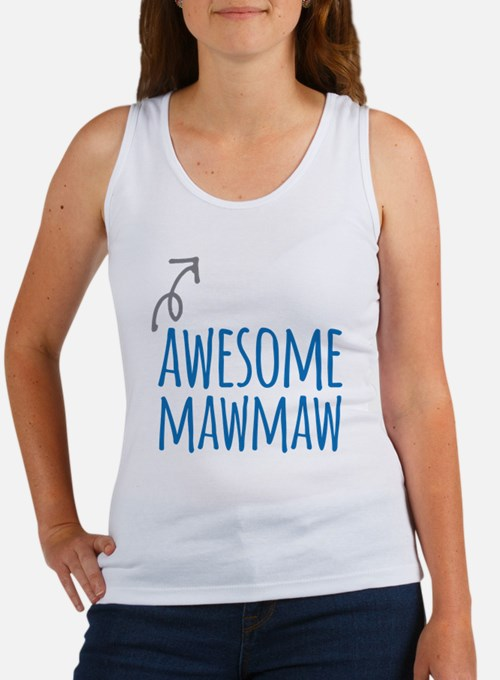 Awesome Mawmaw Tank Top