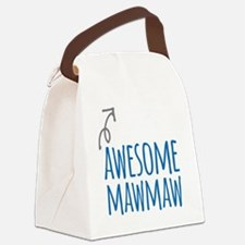 Awesome Mawmaw Canvas Lunch Bag