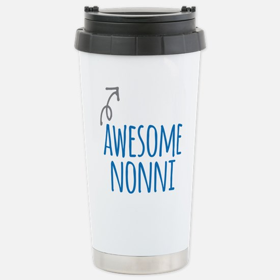 Awesome Nonni Stainless Steel Travel Mug