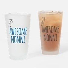 Awesome Nonni Drinking Glass