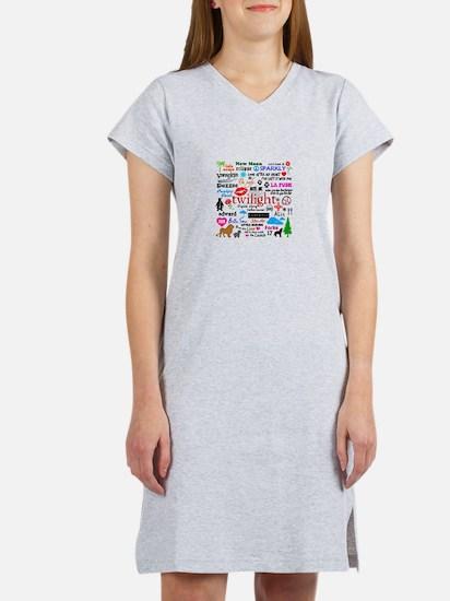 Cute Team edward Women's Nightshirt