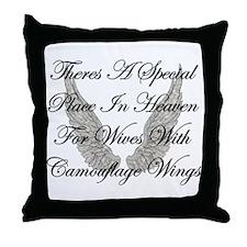 Military Item Throw Pillow
