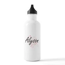 Alyson Artistic Name D Water Bottle