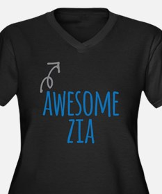 Awesome Zia Plus Size T-Shirt