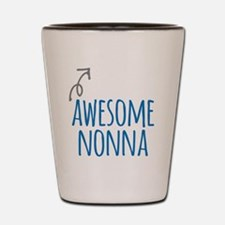 Awesome Nonna Shot Glass