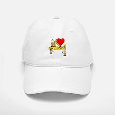 I Heart Adverbs Baseball Baseball Cap