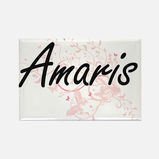 Amaris Artistic Name Design with Butterfli Magnets