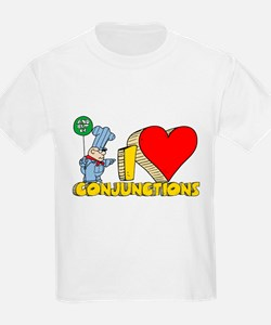 I Heart Conjunctions T-Shirt