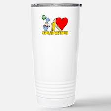 I Heart Conjunctions Ceramic Travel Mug