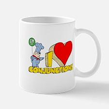 I Heart Conjunctions Mug