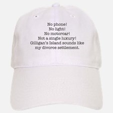 No Phone ... Baseball Baseball Cap