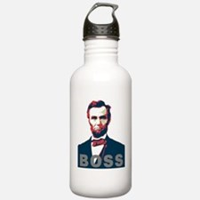 Cute Lincoln for president Water Bottle