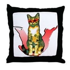 Anastasia's two sides Throw Pillow