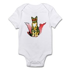 Anastasia's two sides Infant Bodysuit