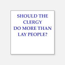 clergy Sticker