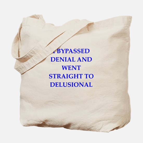 delusion Tote Bag