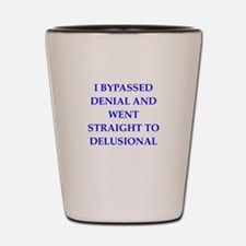 delusion Shot Glass