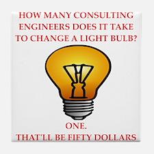 engineer Tile Coaster