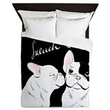 French bulldog Queen Duvet Covers