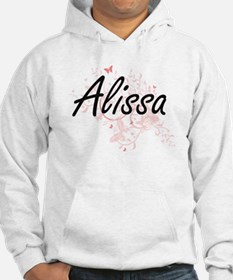 Alissa Artistic Name Design with Hoodie