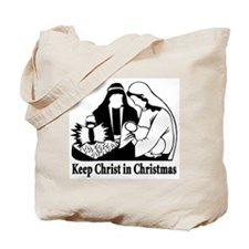 Keep Christ in Christmas Tote Bag