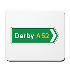 Derby Roadmarker, UK Mousepad