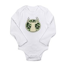 Unique Bow hunting Long Sleeve Infant Bodysuit