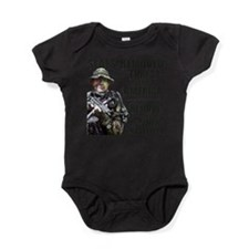 Cute Navy seals team 6 Baby Bodysuit