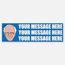 PERSONALIZED Bernie Sanders 2016 Bumper Bumper Bumper Sticker