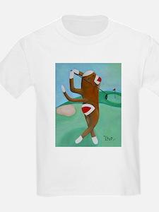 Golf Sock Monkey T-Shirt