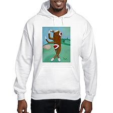 Golf Sock Monkey Hoodie