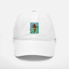 Golf Sock Monkey Baseball Baseball Cap