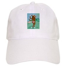 Golf Sock Monkey Baseball Cap