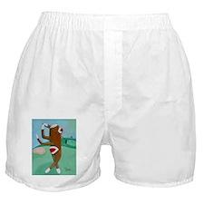 Golf Sock Monkey Boxer Shorts