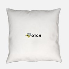 beotch2.png Everyday Pillow