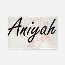 Aniyah Artistic Name Design with Butterfli Magnets