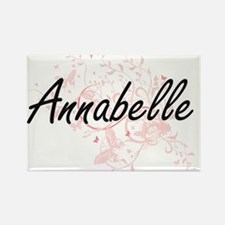 Annabelle Artistic Name Design with Butter Magnets