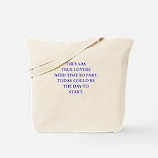 poem Tote Bag