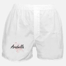 Arabella Artistic Name Design with Bu Boxer Shorts