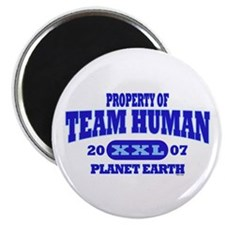 PROPERTY OF TEAM HUMAN Magnet