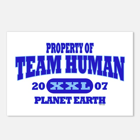 PROPERTY OF TEAM HUMAN Postcards (Package of 8)